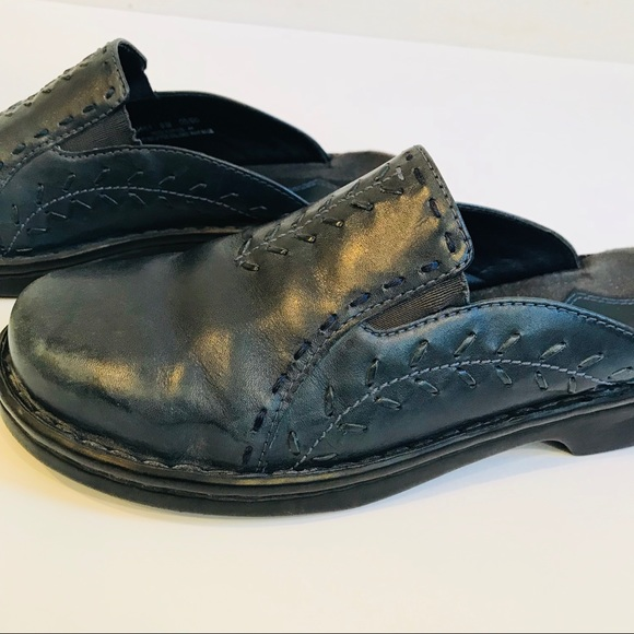 31cdb7397c Clarks Shoes | Clearance Navy Blue Slip On Loafer Clog | Poshmark